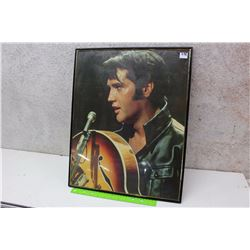 Framed Hanging Elvis Photograph Print