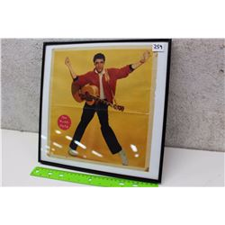 Framed Elvis Presley Pin Up