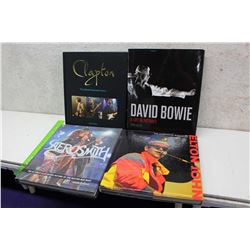 Lot of Music Legends Illustrated Books