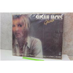 "Susan Jacks, ""Ghosts"" Promotional Album Cover Poster"