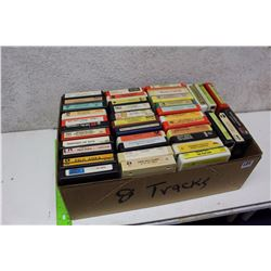 Box Of Misc 8 Tracks