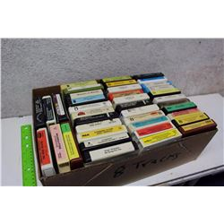 Box Of Assorted Misc 8 Tracks