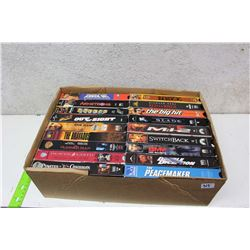 Box of Misc VHS Movies (18)