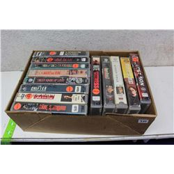 Box of Misc VHS Movies (13)