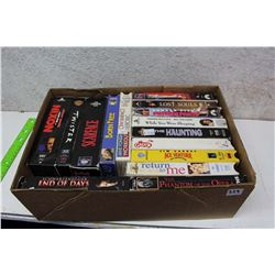 Box of Misc VHS Movies (15)