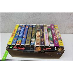 Box of Misc VHS Movies (14)