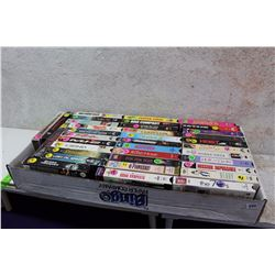 Large Box of Assorted VHS Movies (36)