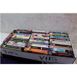 Large Box of Assorted VHS Movies (35)