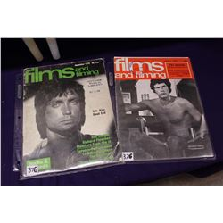 Pair of Films And Filming Magazine (2)(December 1970, Janruary 1977)