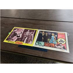 Pair of Original  Lobby Cards (Son of Flubber 1962, A Girl Named Tamiko 1962 )