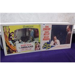Pair of Original Lobby Cards (The Brigand 1952, The Country Girl 1954)