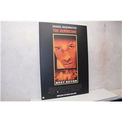 """The Hurricane"" Original Movie Poster, Hard Board Backing (27"" x 39.5"")"