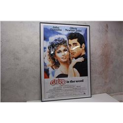 """Grease"" Framed Movie Poster( 27"" x ""40"")"
