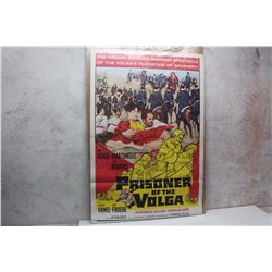 """Prisoner of the Volga"" Original Movie Poster (27"" x 40"")"