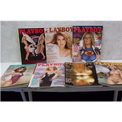 Lot of Playboy Magazines (7)(Various Dates 1981-82)
