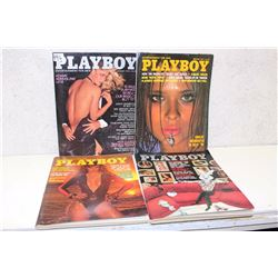 Lot of Playboy Magazines (7)(Various Dates 1978-77)