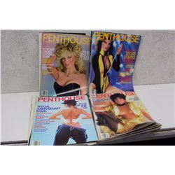 Lot of Penthouse XXX Magazine (4)(Various Dates 1983-82)