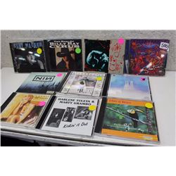 Lot of Assorted Music CDs (10)