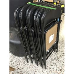 Lot of Folding Chairs (7)