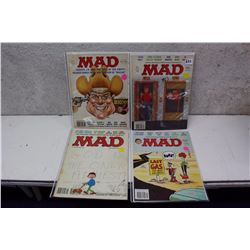 Lot of 70s MAD Magazines (4)
