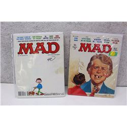 Pair of 70s MAD Magazines