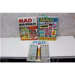 Lot of 70s MAD Magazines (3)