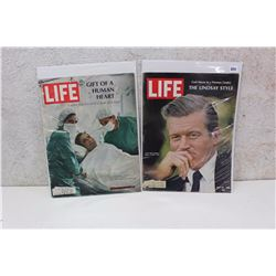 Pair of 70s Life Magazines