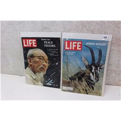 Pair of 60s Life Magazines