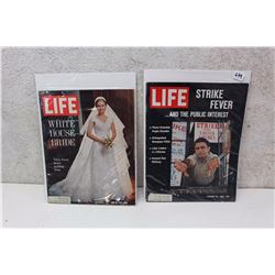 Pair of Life Magazines