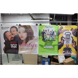 Lot of Movie Posters (5)(Lethal Weapon, Analyze That)