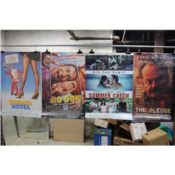 Lot of Movie Posters (5)(Two Weeks Notice, Bio-Dome, The Pledge)