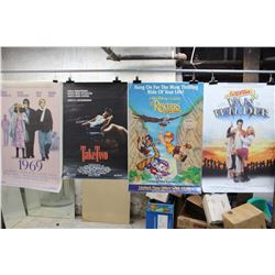 Lot of Movie Posters (5)(Take Two, The Rescuers Down Under)
