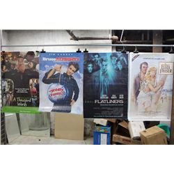 Lot of Movie Posters (5)(Flatlines, Bruce Almighty)