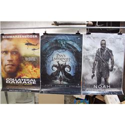 Lot of Movie Posters (3)(Noah, Collateral Damage, Pan's Labyrinth)