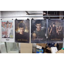 Lot of The Twilight Saga Movie Posters (11)(Breaking Dawn, Eclipse, New Moon)