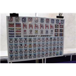 NHL Hockey Trading Cards Poster (2007-08)