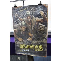 WWE Survivor Poster