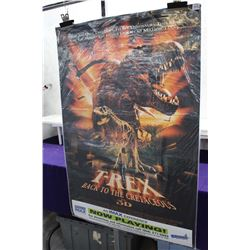 T-Rex Back To The Cretaceous Poster