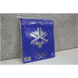 Olympic Souvenir Program Booklet 2002 Winter Games