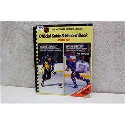 NHL Official Guide & Record Book (1988-89)