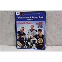 NHL Official Guide & Record Book (1990-91)