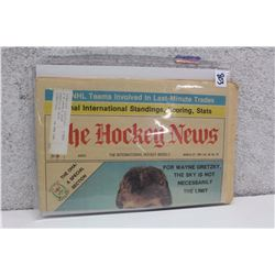 The International Hockey Weekly Newspaper (March 27th, 1981)