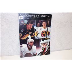 Vancouver Canucks Magazine The Silver Edition (1970-71)