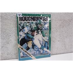 Roughriders CFL Illustrated Magazine
