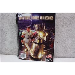 CFL Facts Figures & Records (2004)