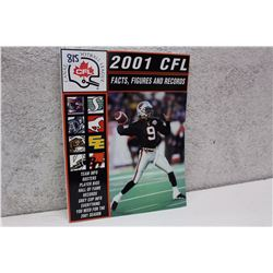 CFL Facts Figures & Records (2001)
