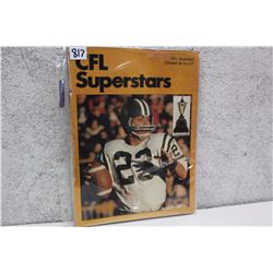 CFL Illustrated Superstars Magazine (1977)