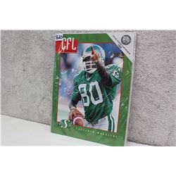 CFL Illustrated Saskatchewan Roughriders Souvenir Magazine (1996)