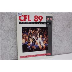 CFL Facts Figures & Records (1989)