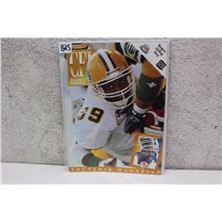 CFL Illustrated Edmonton Eskimos Magazine